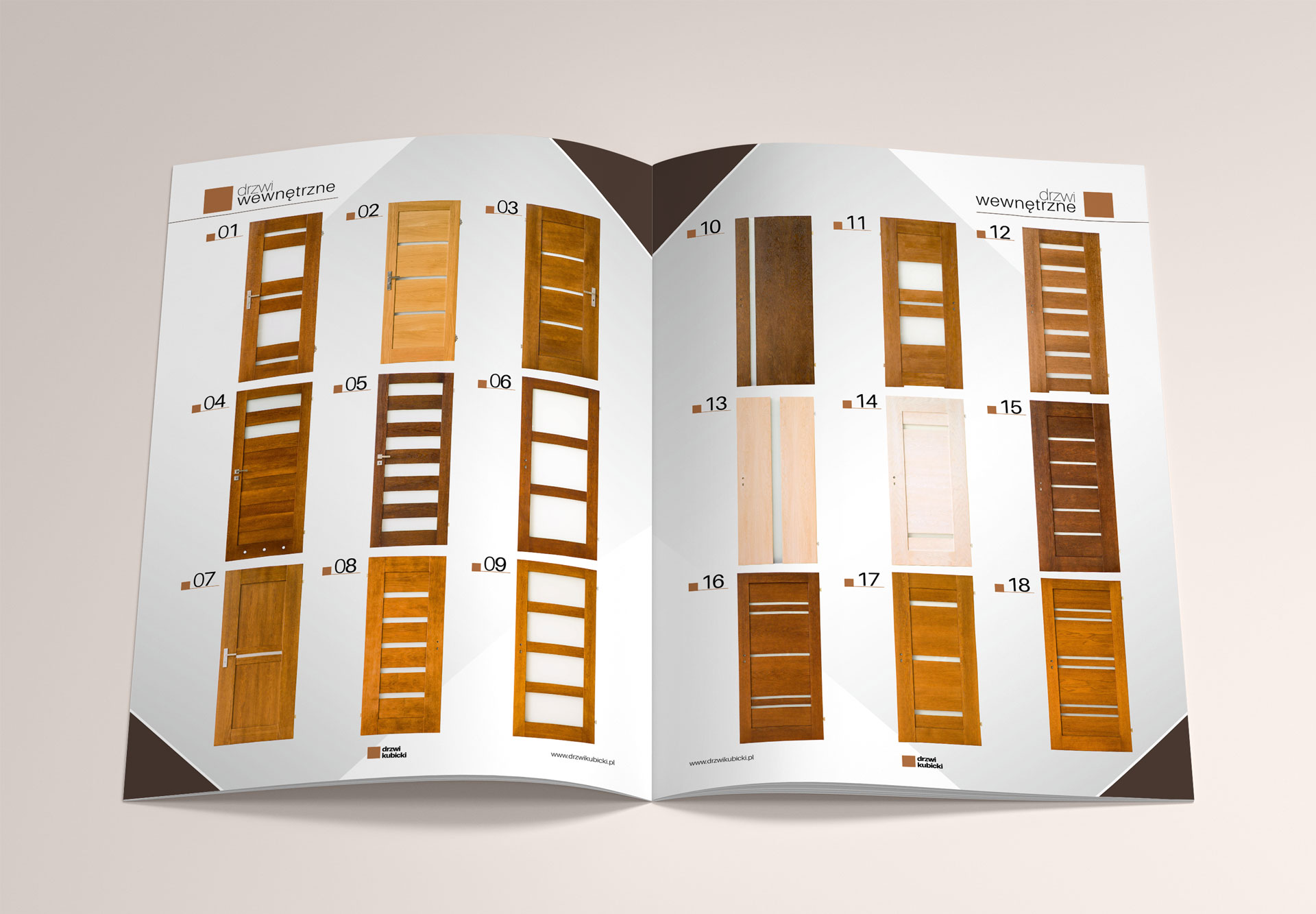catalog katalog pages inlay strony